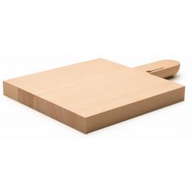 Planche à découper avec poignée 21 x 21 cm