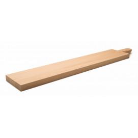 Planche à découper avec poignée 65 x 12 cm