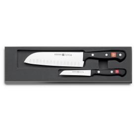 Coffret couteaux 2 pièces Gourmet