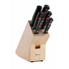 Bloc couteaux avec 6 pièces Gourmet